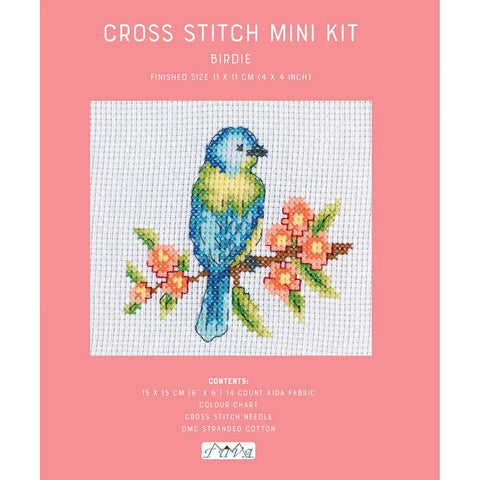 DMC Cross Stitch Kit - Birdie