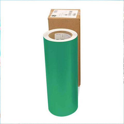 Silhouette Glossy Permanent Vinyl Roll 12 in x 75 ft - Green