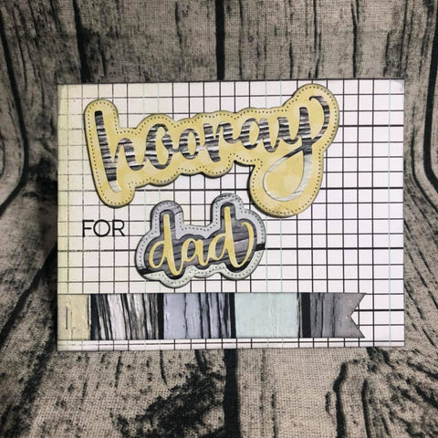 Honey Bee 3x4 inch Stamp Set - Hooray For You