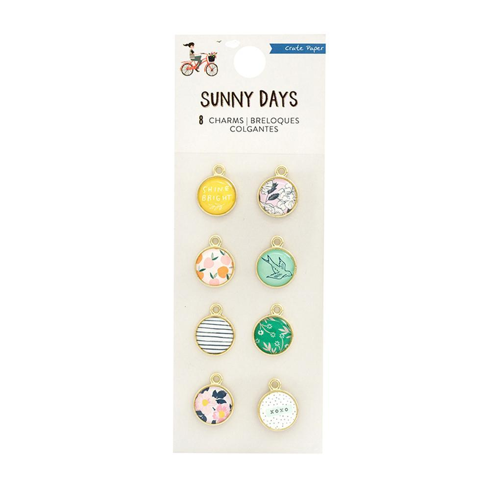 Crate Paper - Maggie Holmes Sunny Days Collection - Charms