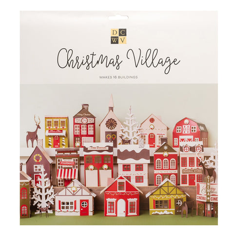 DCWV - Paper Project - Christmas Village
