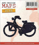 Find It Trading Amy Design Map Die Bike