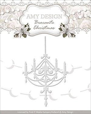 Find It Trading Amy Design Brocante Christmas Die Chandelier