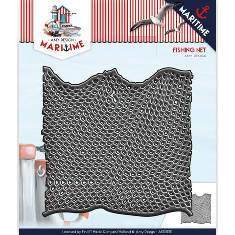 Find It Trading Amy Design Maritime Die - Fishing Net