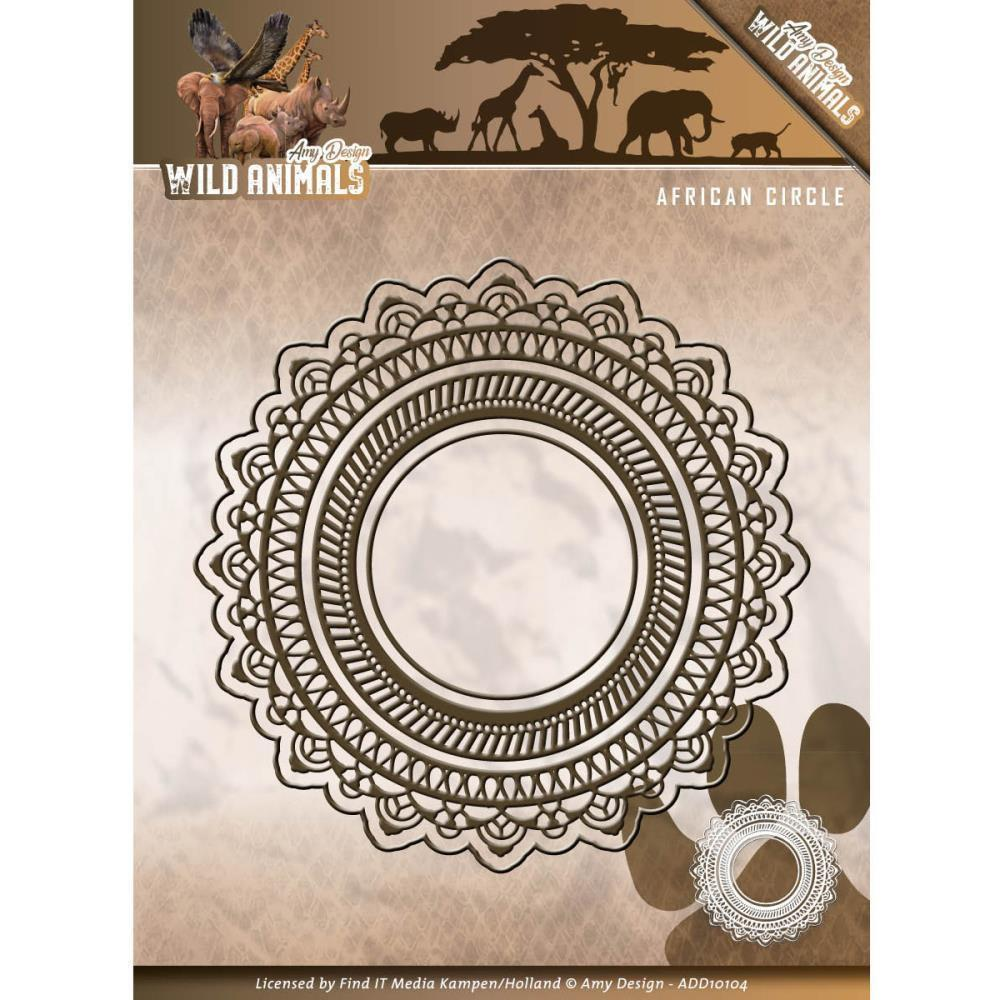 Find It Trading Amy Design Wild Animals Die - African Circle