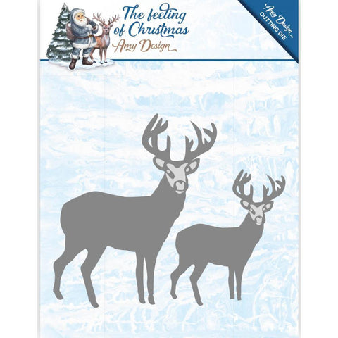 Find It Trading Amy Design - The Feeling Of Christmas Die - Christmas Reindeers