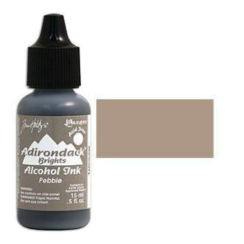 Tim Holtz Alcohol Ink .5oz - Brights - Pebble