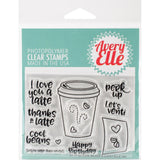 Avery Elle Clear Stamp Set 4x3 inch - Cool Beans