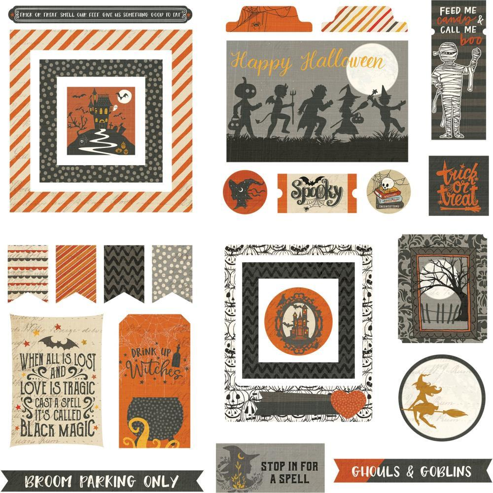 PhotoPlay - All Hallows' Eve Ephemera Cardstock Die-Cuts