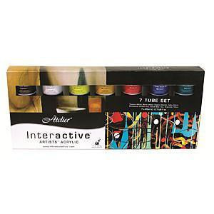 Chroma - Atelier Interactive 7 X 80Ml Tube Set