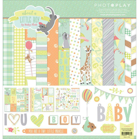 Photo Play Collection Pack 12x12 inch - About A Little Boy