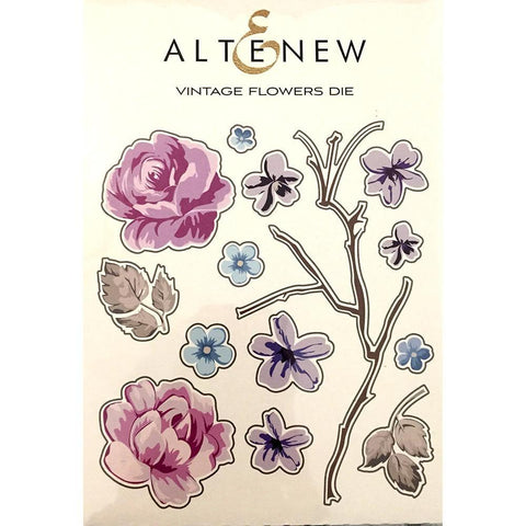 Altenew Die Set - Vintage Flowers