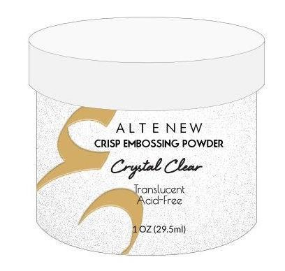 Altenew Embossing Powder - Crystal Clear Crisp
