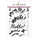 Altenew Stamps - Cross Stitch Flower