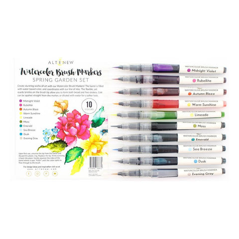 Altenew Watercolour Brush Markers - Spring Garden Set