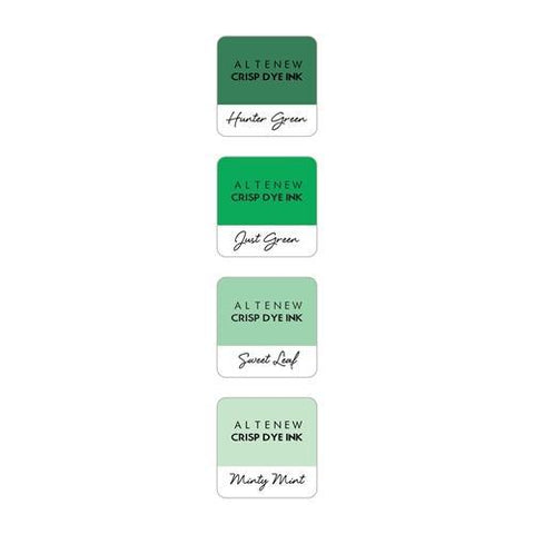 Altenew Mini Cube Ink Pad Set - Green Meadows
