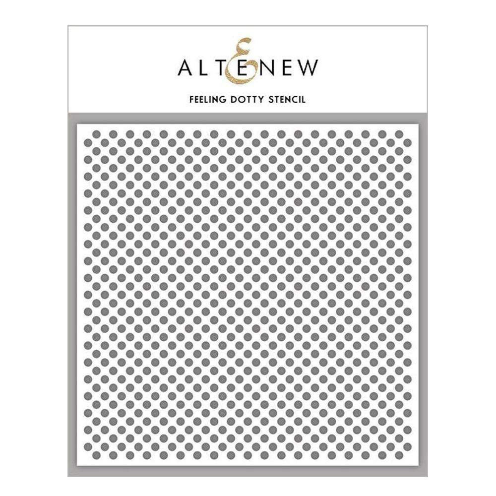 Altenew Stencil - Feeling Dotty