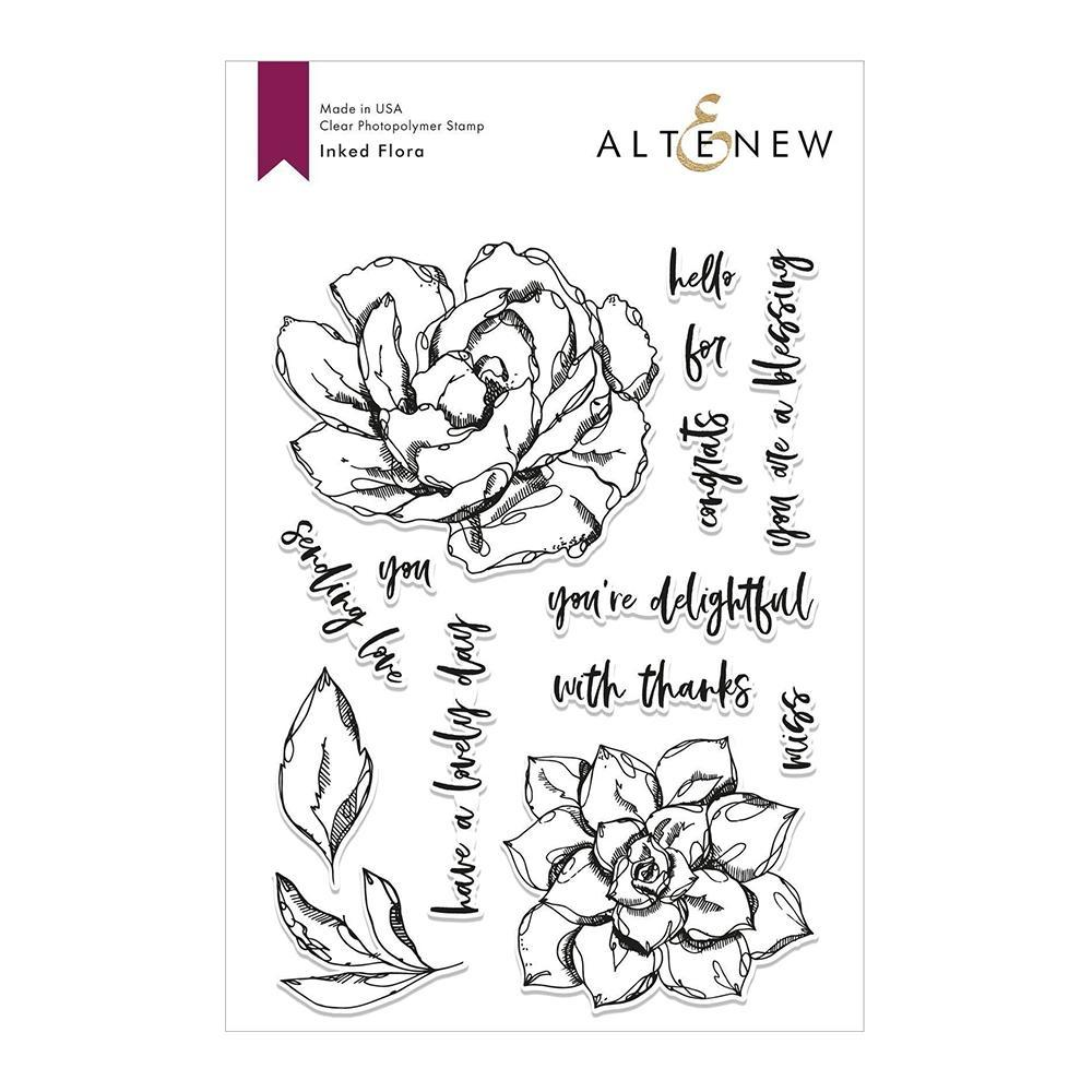 Altenew Stamp Set - Inked Flora