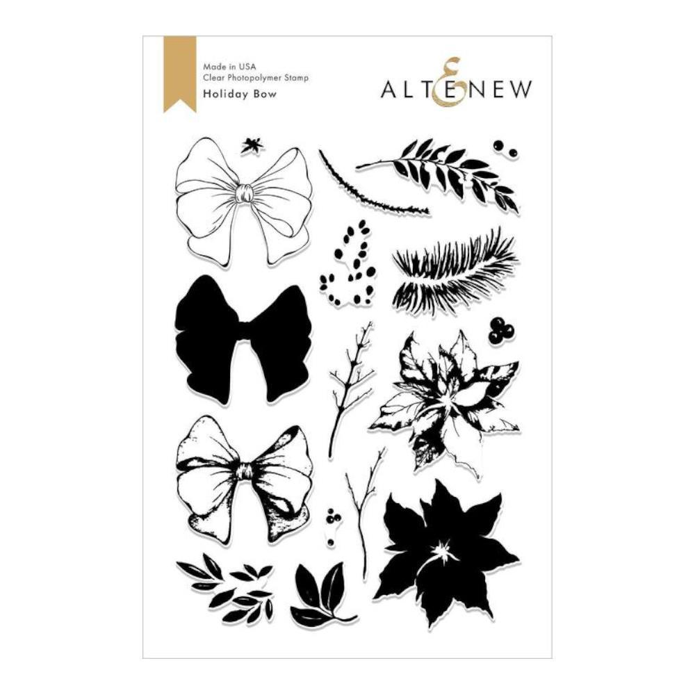 Altenew Stamp Set - Holiday Bow