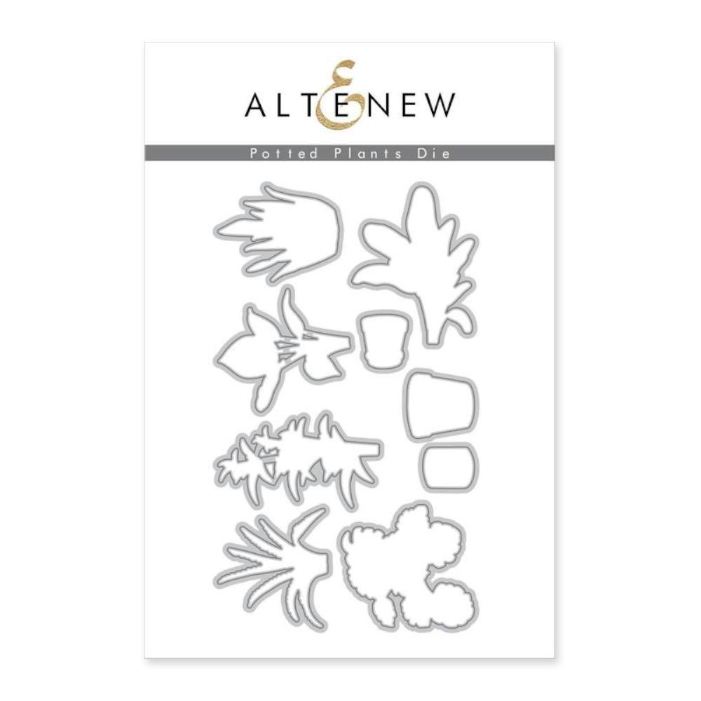 Altenew Dies - Potted Plants