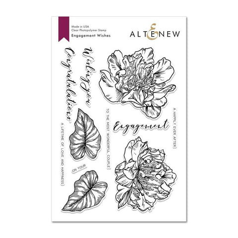 Altenew - Engagement Wishes Stamp Set