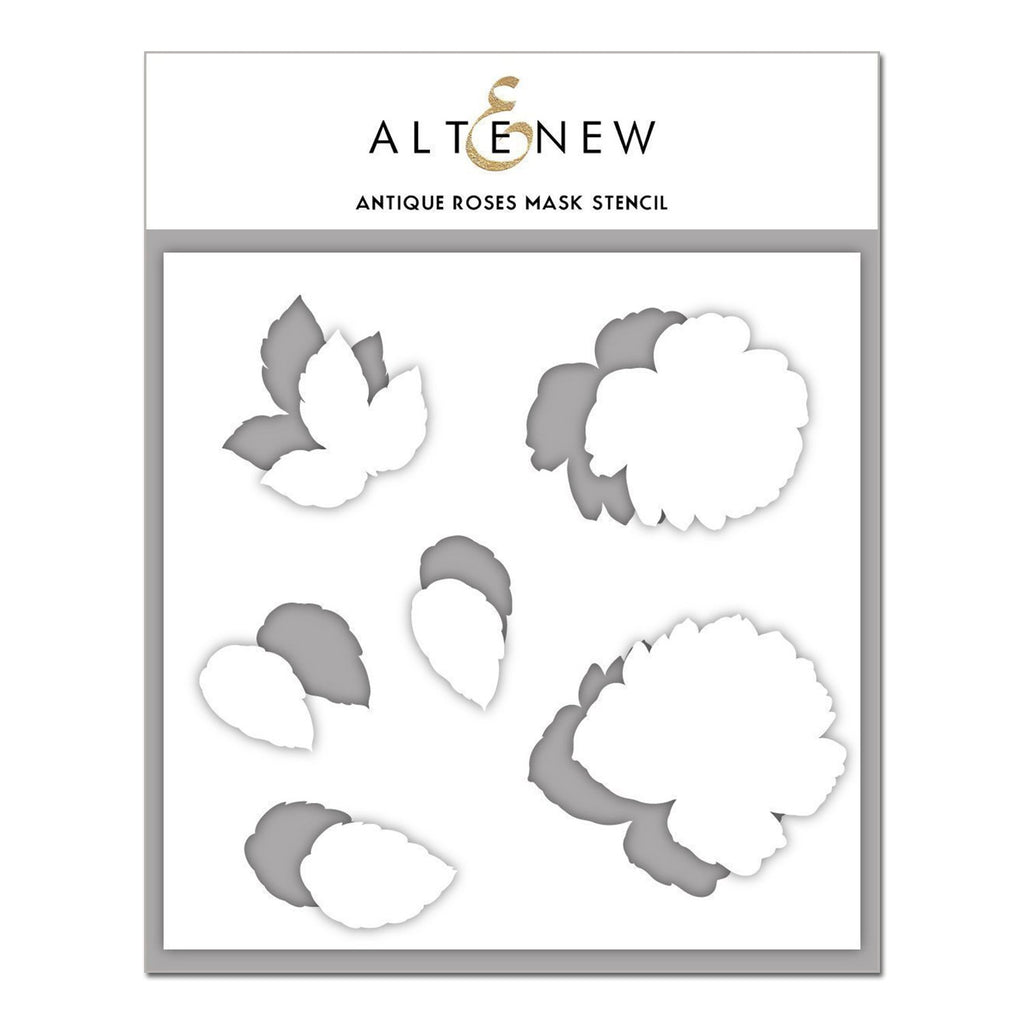 Altenew - Mask Stencil - Antique Roses