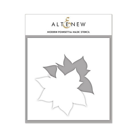 Altenew - Mask Stencil - Modern Poinsettia