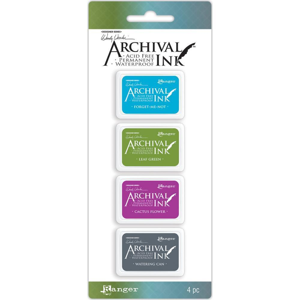 Wendy Vecchi Mini Archival Ink Pads Set #2