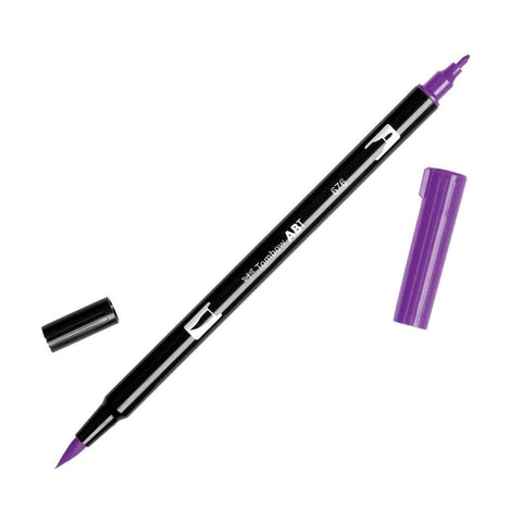 American Tombow - Dual Brush Pen - 676 Royal Purple