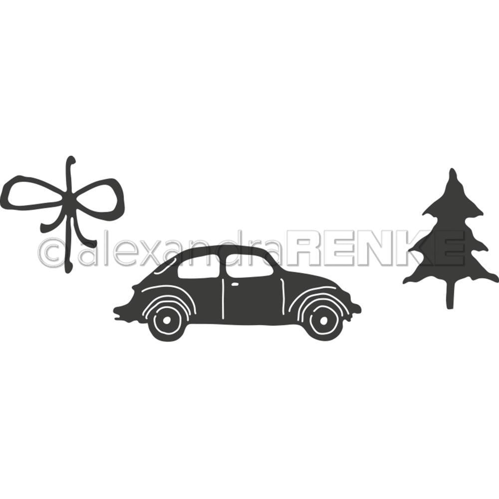 Alexandra Renke Dies - Car with Fir Tree