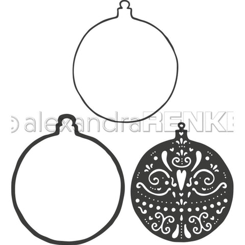 Alexandra Renke Dies - Ball Ornament