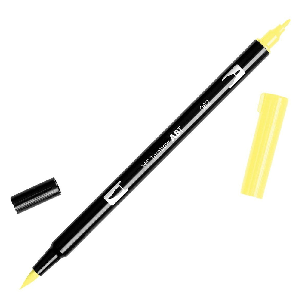 American Tombow - Dual Brush Pen - 062 Pale Yellow