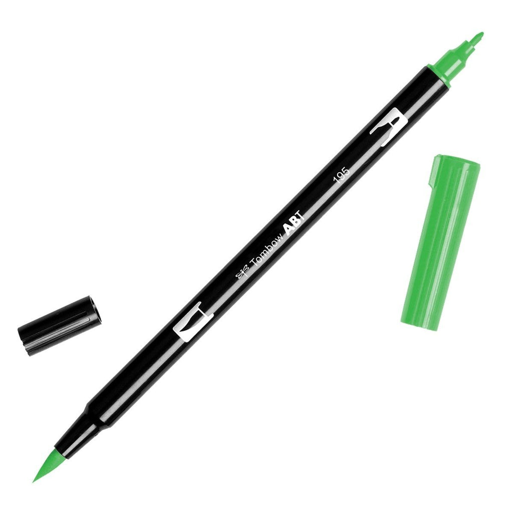 American Tombow - Dual Brush Pen - 195 Light Green
