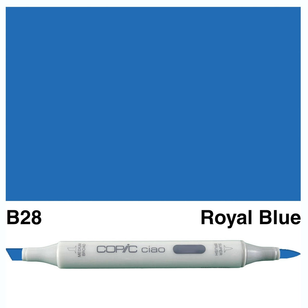 Copic Ciao Marker Pen -  B28-Royal Blue