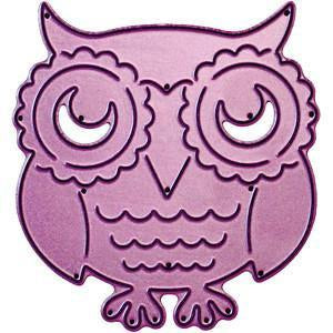 Cheery Lynn Designs Whimsical Die Owl2.625In. X2.75In.