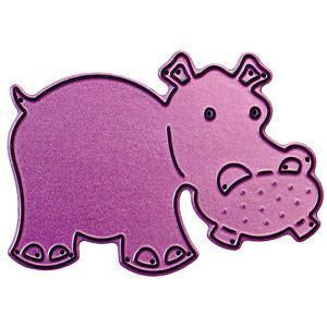 Cheery Lynn Designs Whimsical Die Hippo2.875In. X2in.