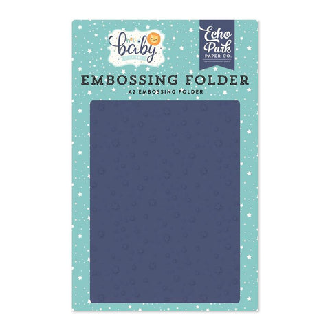 Echo Park Embossing Folder A2 - Shining Stars