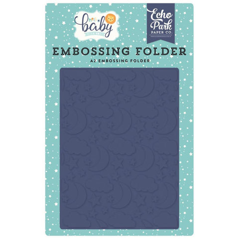 Echo Park Embossing Folder A2 - Good Night