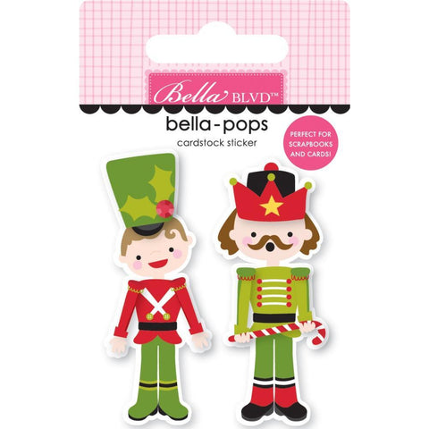 Bella Blvd Santa Squad Bella-Pops 3D Stickers - Nutty Or Nice