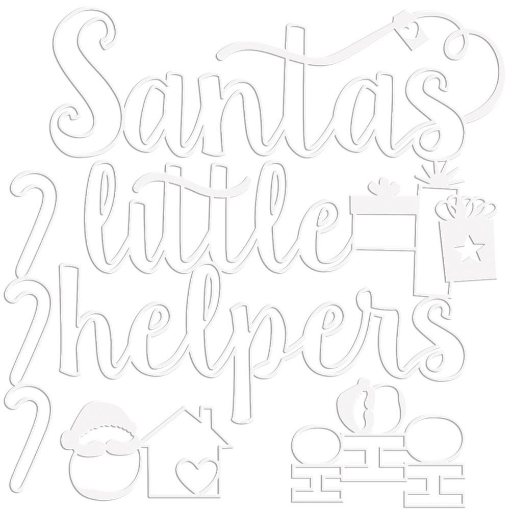 Bella Blvd Santa Squad Cut-Outs Little Helpers