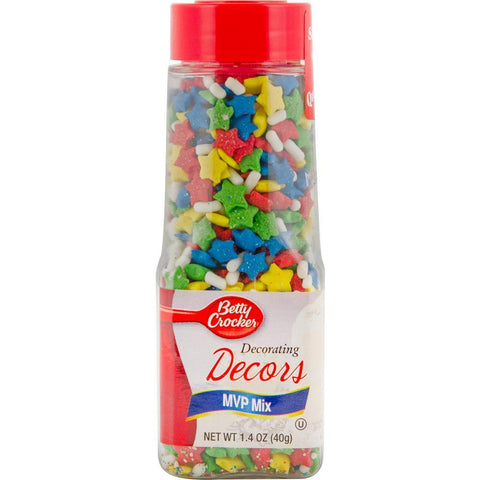 Betty Crocker Sprinkles 1.4oz MVP Mix