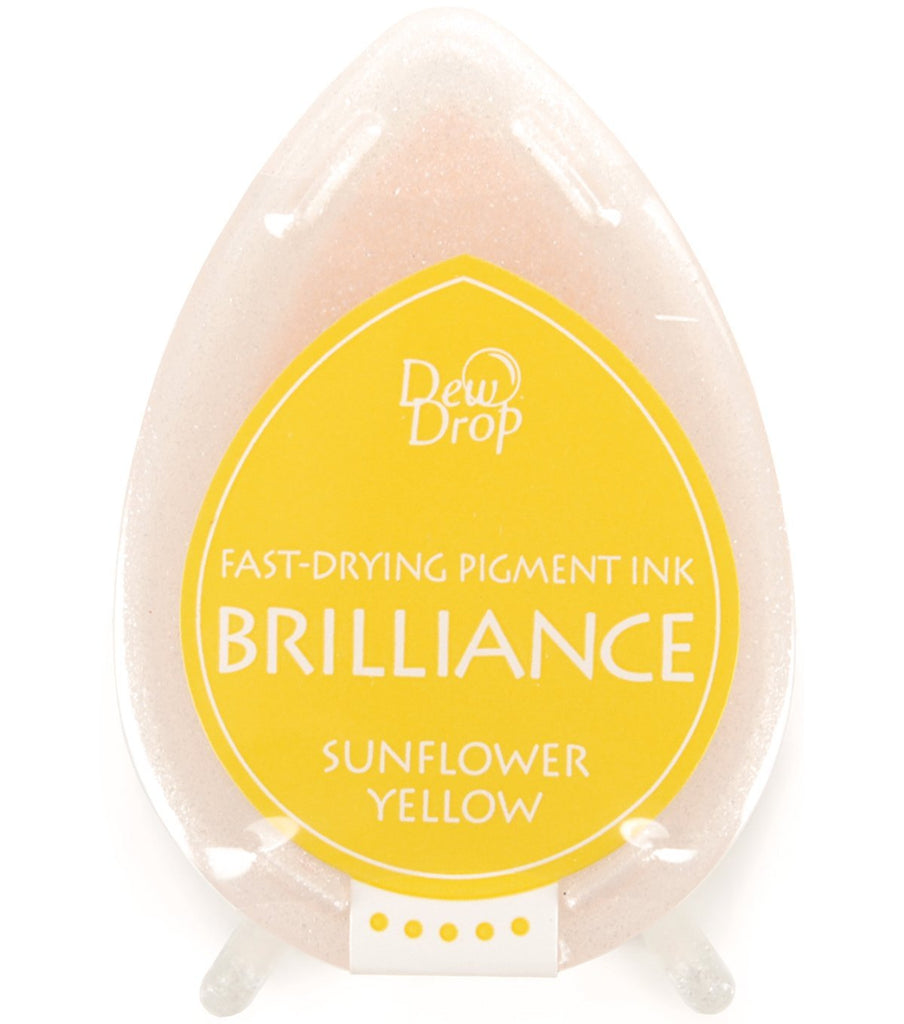 Brilliance Dew Drop Pigment Ink Pad - Sunflower