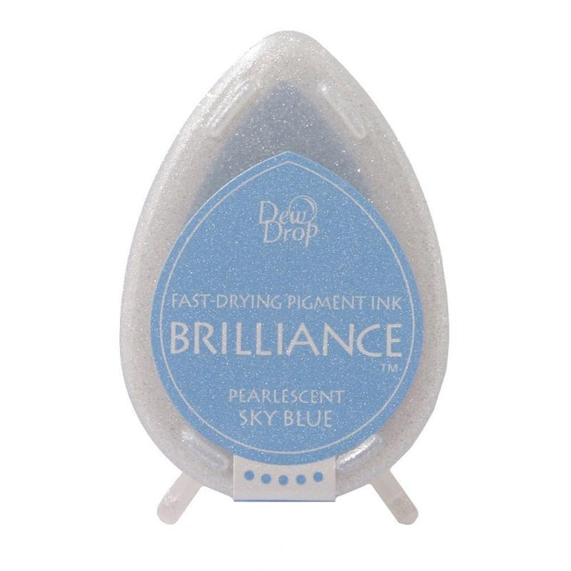 Brilliance Dew Drop Pigment Ink Pad - Sky blue