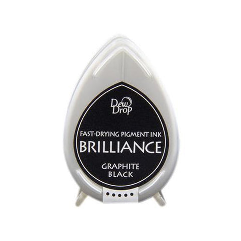 Brilliance Dew Drop Pigment Ink Pad - Graphite