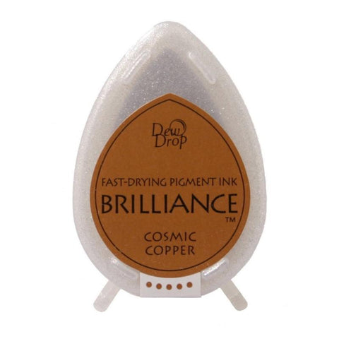 Brilliance Dew Drop Pigment Ink Pad - Cosmic Copper