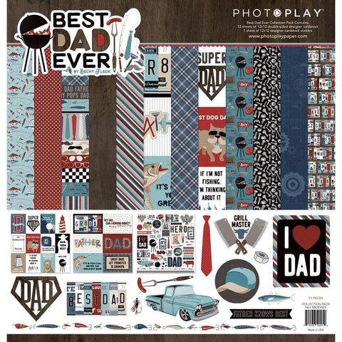 PhotoPlay Collection Pack 12x12 inch - Best Dad Ever