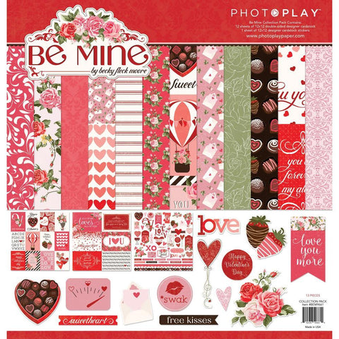 PhotoPlay Collection Pack 12in x 12in - Be Mine