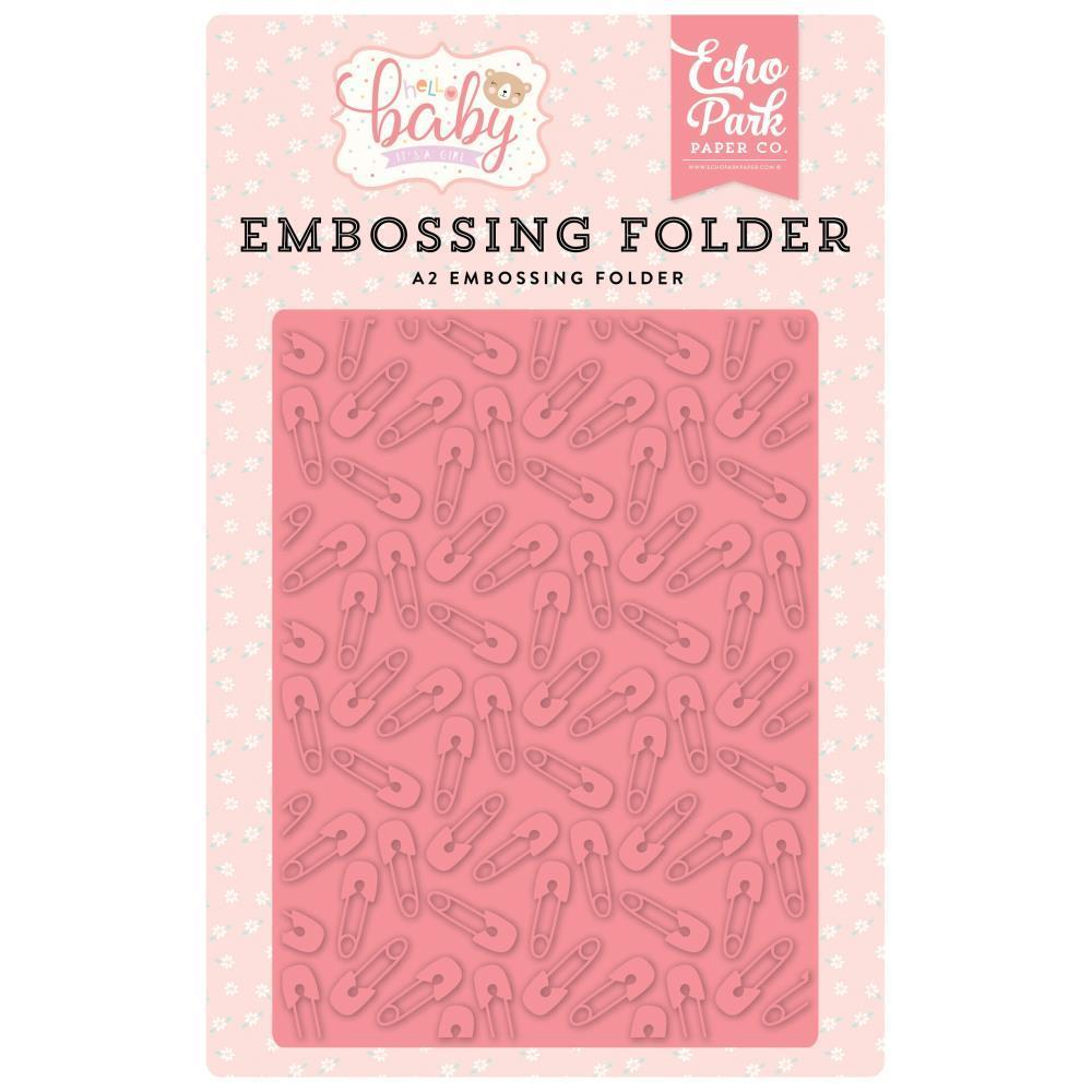 Echo Park Embossing Folder A2 - Baby Pin
