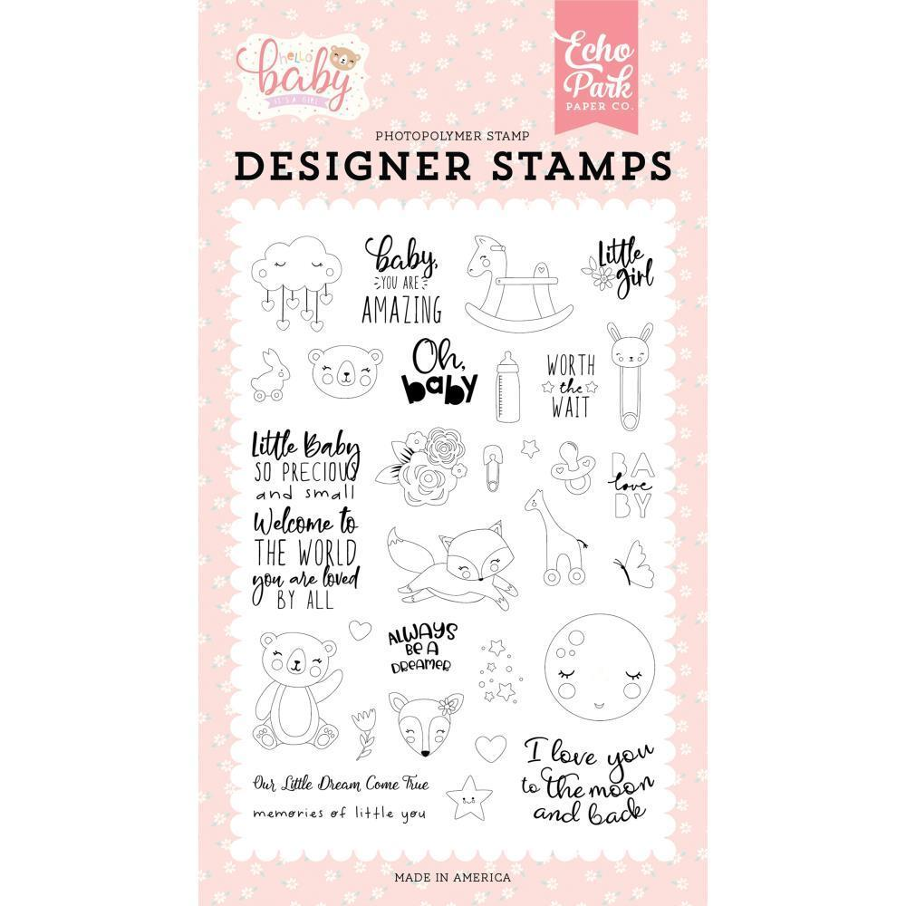 Echo Park Stamps - Little Baby