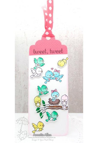 Your Next Stamp Die - Large Layered Bookmark